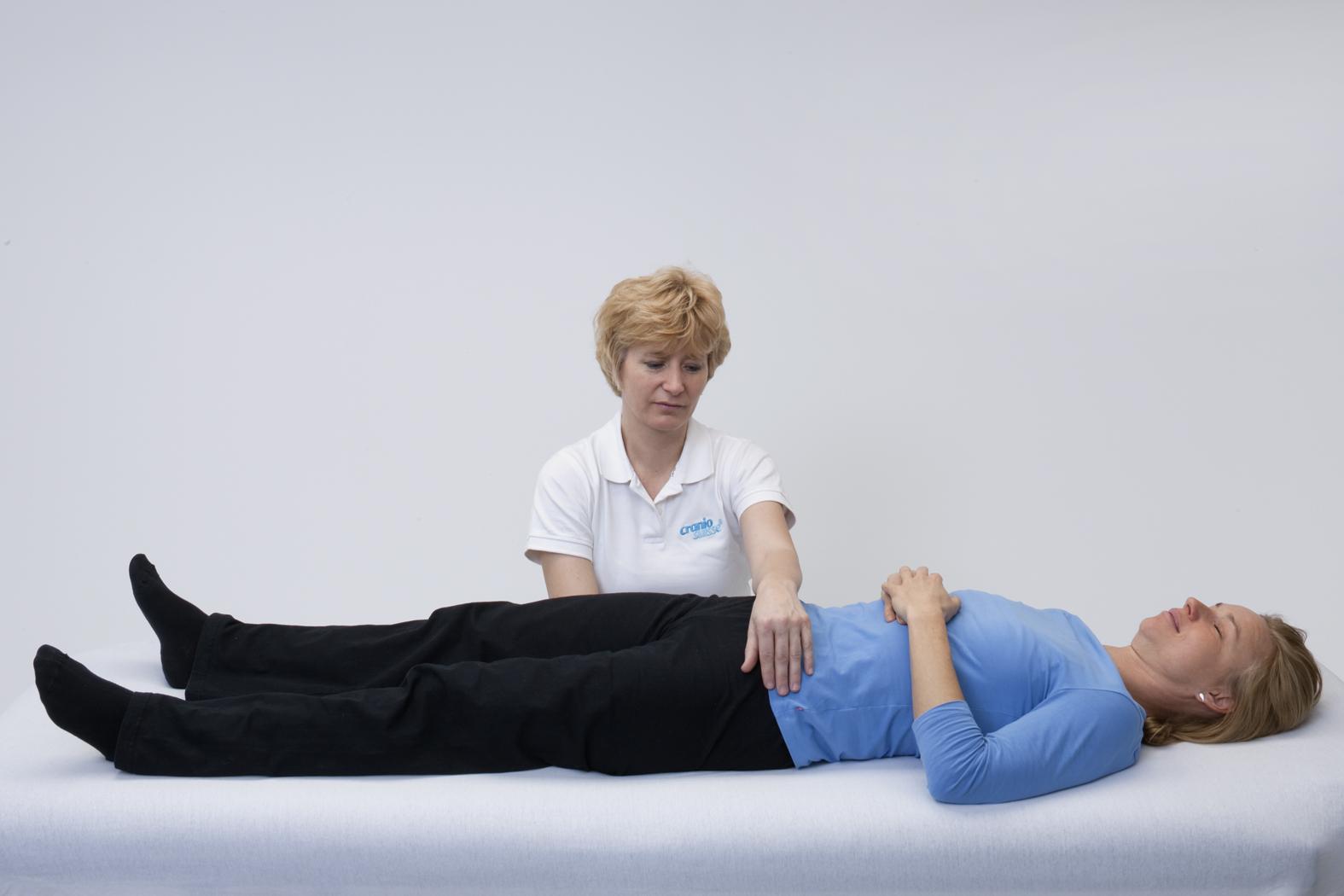 Craniosacral Therapie bei Karin Werlen, Visp